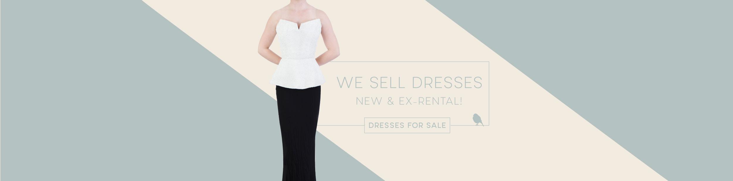 Designer evening dress hire australia
